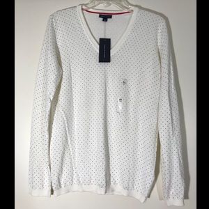 Tommy Hilfiger Polka Dot Knit Shirt